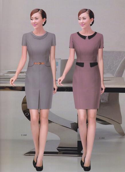韩版职业装款连衣裙