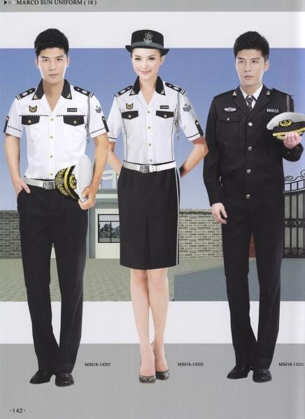 保安引导员制服