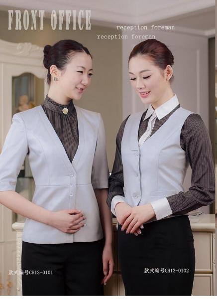 中西融合设计风格酒店制服