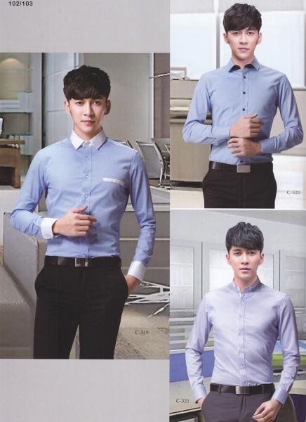 男式商务衬衫